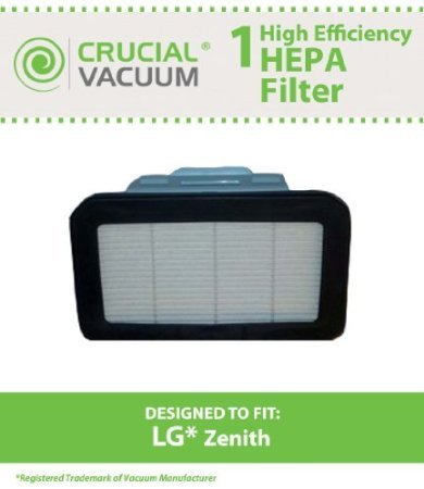 1 LG Zenith HEPA Exhaust Filter; Fits LG LuV300B, LUV400T, used for sale  Delivered anywhere in USA
