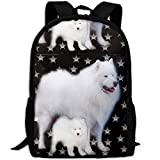 Fashion Stars Dog Sammies Outdoor Shoulders Bag Fabric Backpack Multipurpose ypacks for Adult