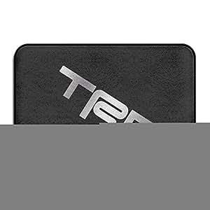 vdseht TRD Toyota Racing developme Platinum estilo antideslizante Felpudo