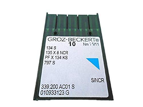 NgoSew 30 Grozbeckert Sewing Machines Needle Leather PFX134KS 134S 135X8NCR for Industrial Juki, Mitsubishi, Yamata, Brother, Singer - Yamata Needles