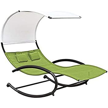 Amazon Com Mrt Supply Double Seated Chaise Canopy Steel