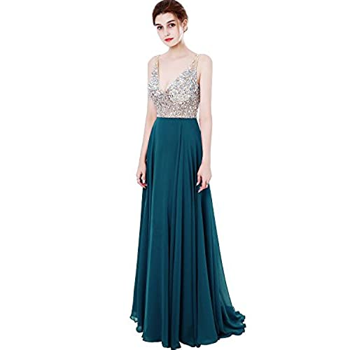 Teal Color Evening Dresses: Amazon.com