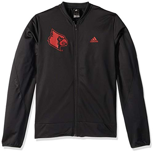 NCAA Louisville Cardinals Mens On Court Warm-Up Jacketon Court Warm-Up Jacket, Black, ()