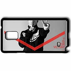 Personalized Samsung Note 4 Cell phone Case/Cover Skin Arshavin Football Player Advertising Nike Form Suit Black
