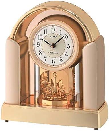 Seiko - Reloj de Mesa Musical con péndulo: Amazon.es: Hogar
