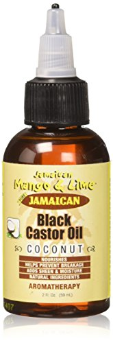 Jamaican Mango and Lime Black Castor Oil, Coconut, 2 Ounce (Coconut Jamaican Castor Oil)