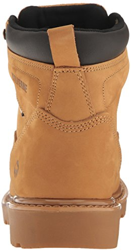 Women's Soft Toe Wolverine Floodhand Wheat Boot Waterproof 6