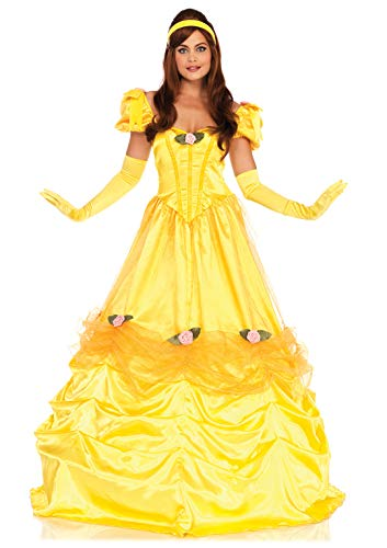 Leg Avenue Women's Costume, Yellow, Large