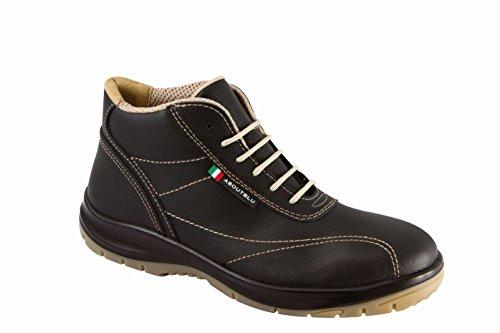 Aboutblu 1926019la36Vieste par de zapatos de seguridad, Negro, 1926019LA37