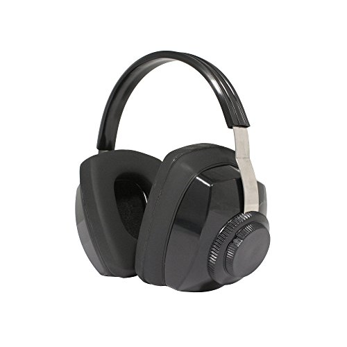 Radians Competitor Multiposition Black Earmuffs