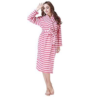 Amemory In Women's Soft Fleece Bathrobe Robe Sizes S-XL AMW91591