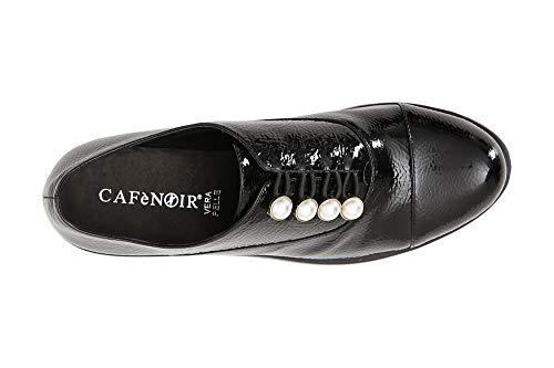 Con 010 Cafè Jeb912 Francesina Nero Naplack En Perlas Noir FF7q0wt