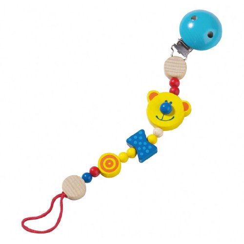 Haba Teddy Pacifier Chain ()
