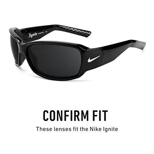 Opciones múltiples Marrón Nike Lentes para Polarizados Oscuro Ignite — de repuesto B7FqY7