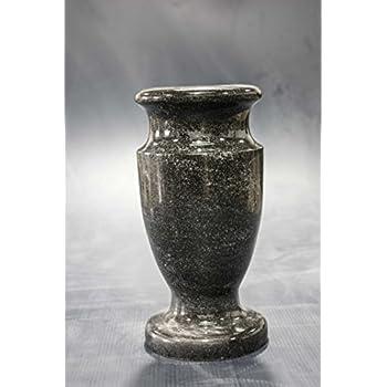 Amazon Black Galaxy Granite Monument Vase Cemetery Tombstone