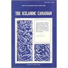 The Icelandic Canadian Magazine, Summer, June, 1982