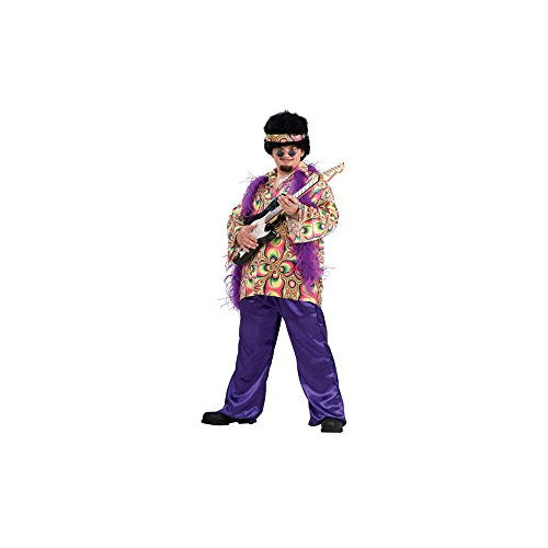 Rubie's Costume Co. Men's Plus Size Purple Daze Costume, As Shown, One Size