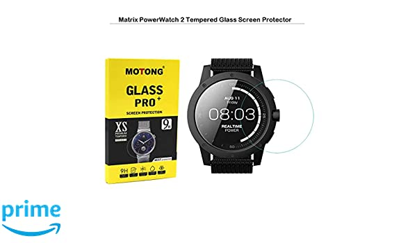 Amazon.com: MOTONG for Matrix PowerWatch 2 Screen Protector ...