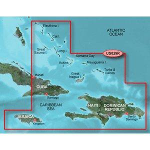 Data Bluechart Card (Garmin Bluechart G2 - HUS029R - Southern Bahamas - Data Card)