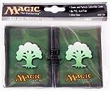 Ultra Pro The Magic the Gathering (MTG) Mana Deck Protectors - GREEN (80 Sleeves) ORIGINAL DESIGN & OOP