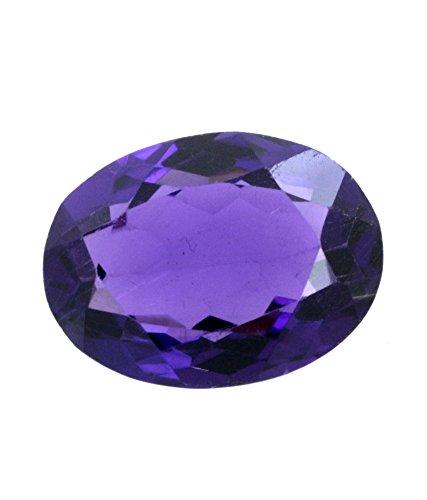 (Bague Amethyst Kathela Very Nice Oval Shape African Purple Natural Amethyst Loose 8.3 Carats Gemstone)