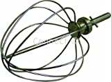 Kenwood 711982 Chef Balloon Whisk Stainless Steel New Circlip Shaft