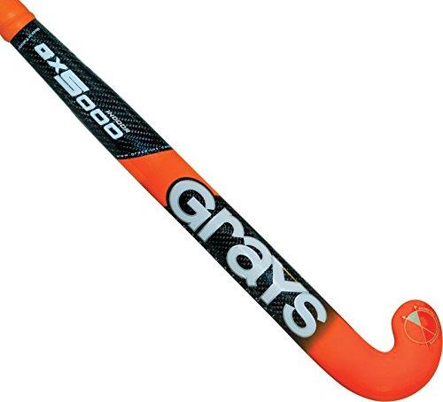 Grays Gx5000 Indoor Field Hockey Stick Black/Orange ()