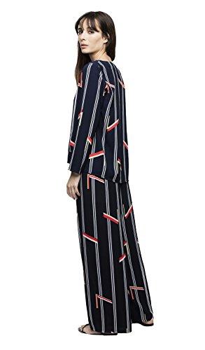 Blu Donna Dioxide Autunno Pantaloni Collezione Inverno xn18S6
