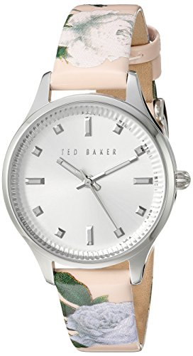Ted Baker Women's 10025271 Classic Analog Display Japanese Quartz Pink Watch