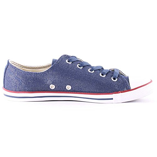 Converse Dainty All Bleu Femme Baskets Mode Ox Star H8HqrBwp