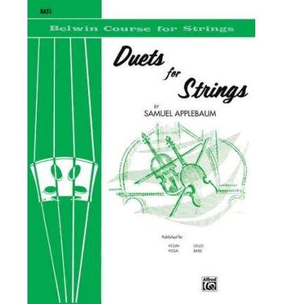 [(Scales for Strings, Bk 1: Violin )] [Author: Samuel Applebaum] [Mar-1985]