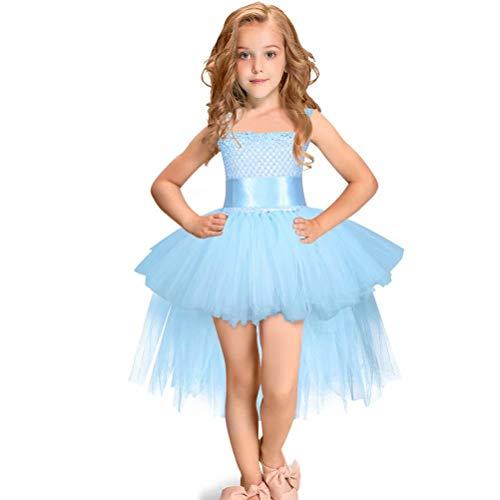 Tsyllyp Girl Princess Dress, Birthday Wedding Party Tutu Dresses -