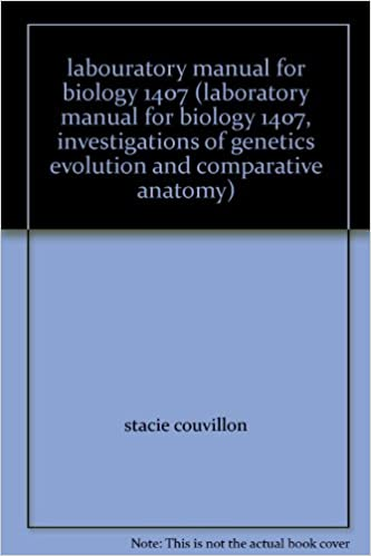 Labouratory manual for biology 1407 laboratory manual for biology labouratory manual for biology 1407 laboratory manual for biology 1407 investigations of genetics evolution and comparative anatomy 3rd edition edition fandeluxe Gallery