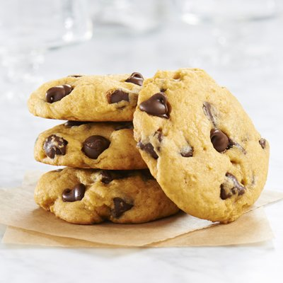 Pumpkin Spice Chocolate Chip Cookies 24 -
