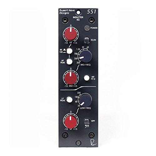 Rupert Neve Designs 551 Inductor EQ by Rupert Neve Designs