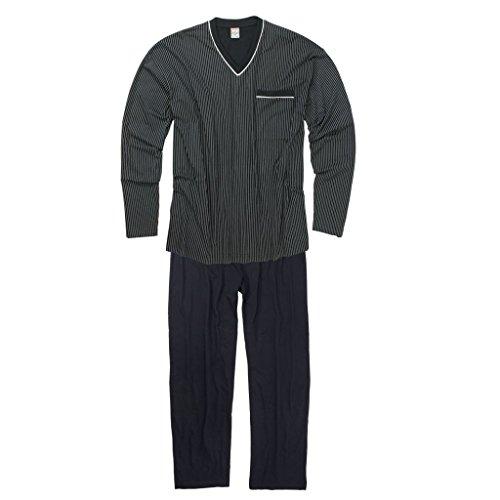 Bleu Pyjama Adamo Ensemble Marine Grande Taille Gustav qFW7BP