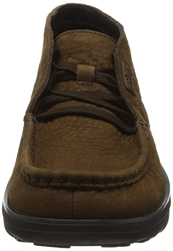 Chocolate Donna Marrone Stivaletti Up FitFlop Loaff Lace a6Cqnz1