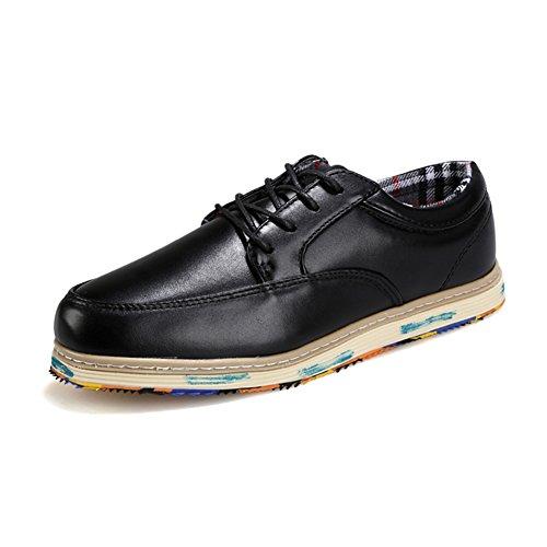 De aire en verano y otoño antideslizante zapatos/Zapatillas casuales/Zapatos de hombre casual de negocios Negro