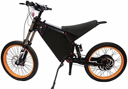 Enduro Stealth Bomber tipo 8000 W bicicleta eléctrica ebike, Negro ...