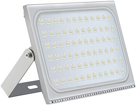 Foco LED para exteriores, de 10 - 500 W, IP67, resistente al agua, foco de 120 grados, lámpara de pared, iluminación exterior para jardín, plaza, patio, fábrica, Blanco frío., 500W: Amazon.es: Iluminación