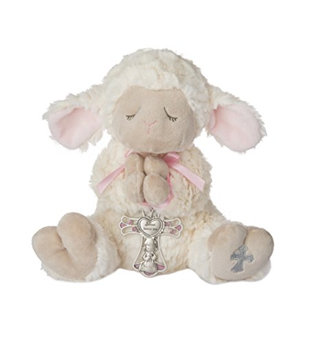 (Serenity Lamb with Crib Cross Girl (2 Piece Set))