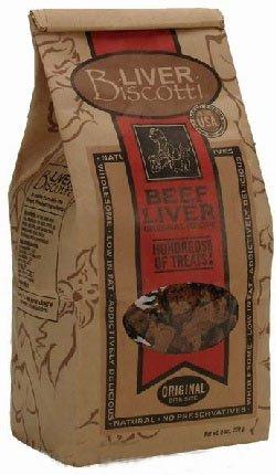 Liver Biscotti Original Flavor (8 oz.), My Pet Supplies