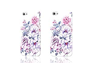 Bloosoming 3D Rough iphone 5 5S Case Skin, fashion design image custom iPhone 5 5s , durable iphone 5 5S hard 3D case cover for iphone 5 5S, Case New Design By Codystore