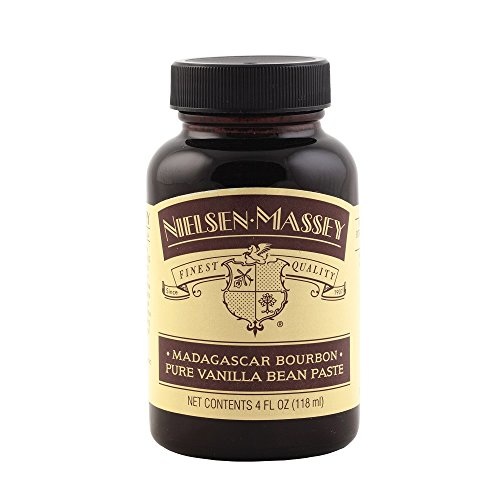 Nielsen Massey Madagascar Bourbon Pure Vanilla Bean Paste, 4 oz Bourbon Vanilla Extract