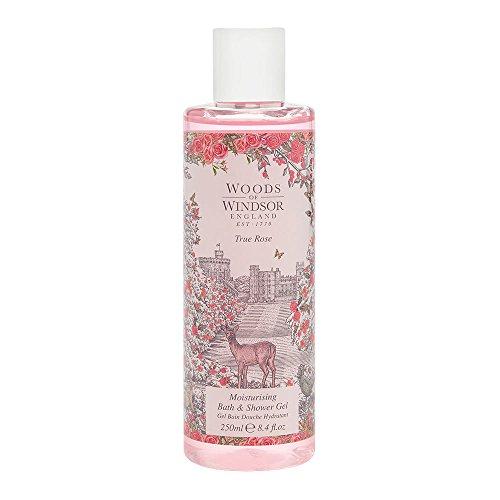 (Woods Of Windsor Moisturizing Bath & Shower Gel for WoMen, True Rose, 8.4 Fluid Ounce)