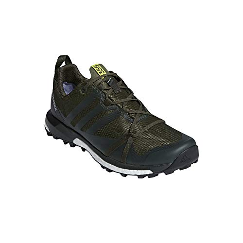 Adidas Terrex Agravic GTX - Zapatillas para Hombre, Base Green/Base Green/Shock Yellow, 9 D(M) US