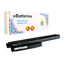 UBatteries Laptop Battery Sony VAIO VPCEH1CFX VPCEH1CFX/B VPCEH1DFX VPCEH1DFX/B VPCEH1EGX VPCEH1EGX/B VPCEH1FGX VPCEH1FGX/B VPCEH1GGX VPCEH1GGX/B - 9 Cell, 6600mAh