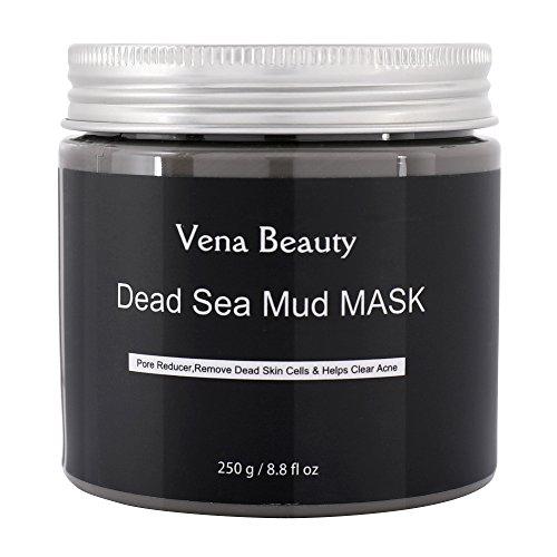 Totes Meer Schlamm Maske für Gesichtsbehandlung - Beste Haut Reinigungsmilch, Pore Reducer und Minimizer von Vena Beauty (8 fl.oz) 250g