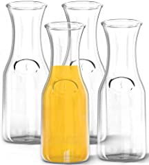Style up your home and kitchen with Kitchen Lux and our various collection of glasses, cups, and carafes that are designed to add a whole lot of class! Perfectly constructed with clear glass to fit any interior aesthetic or party mood, these ...