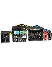 tomzz Audio 7303-001 T-kabel ISO compatibel met Audi vanaf 2013 VW Seat Skoda vanaf 2012 Power Quadlock 52-pins voor invoer handsfree ISO-versterker
